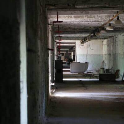 Chernobyl-2 Duga Building inside - 2