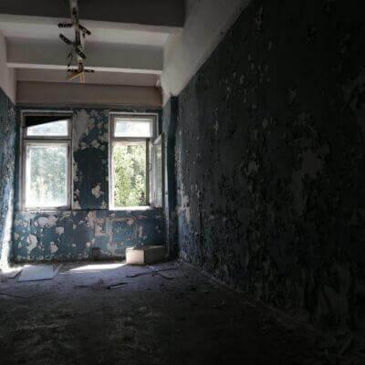 Chernobyl-2 Duga Building inside - 5