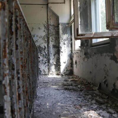 Chernobyl-2 Duga Building inside - 8