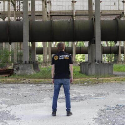 Chernobyl Abandoned Cooling Tower 2