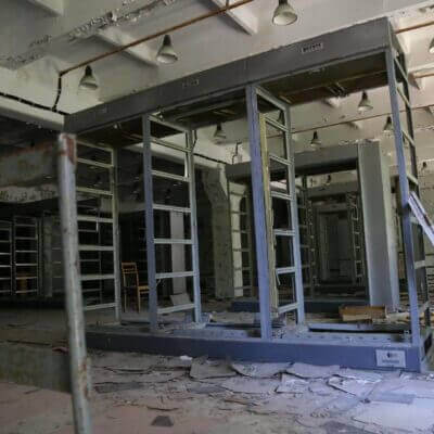 Chernobyl Duga Building inside-2