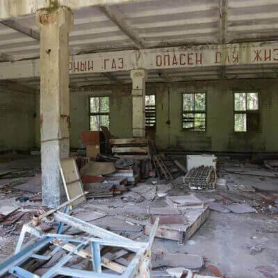 Chernobyl Duga Building inside-3