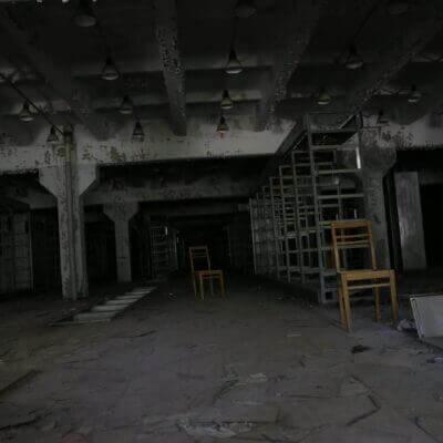 Chernobyl Duga Building inside-4