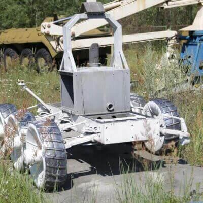 Chernobyl Vehicle Graveyard 2
