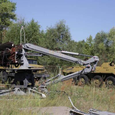Chernobyl Vehicle Graveyard 5