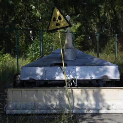 Chernobyl Vehicle Graveyard 8