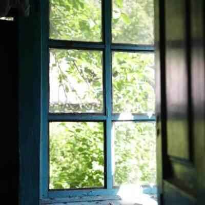 Chernobyl Village windows