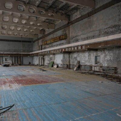 Pripyat school gyms