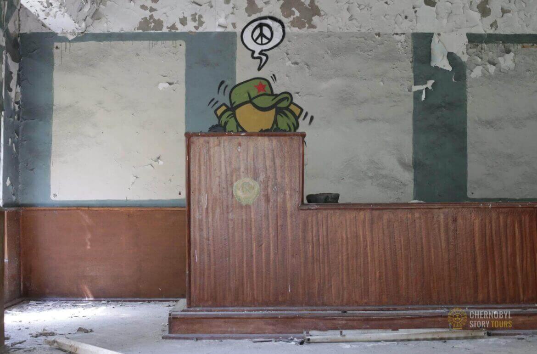 Chernobyl-2 Duga Building inside-10