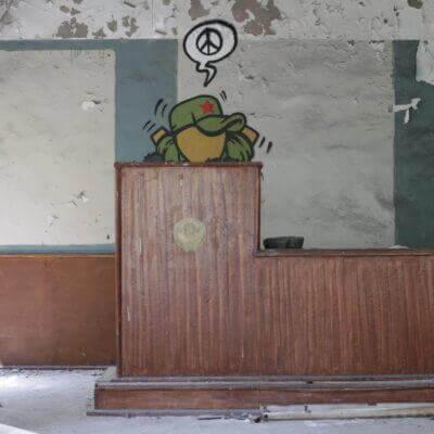 Chernobyl-2 Duga Building inside -10