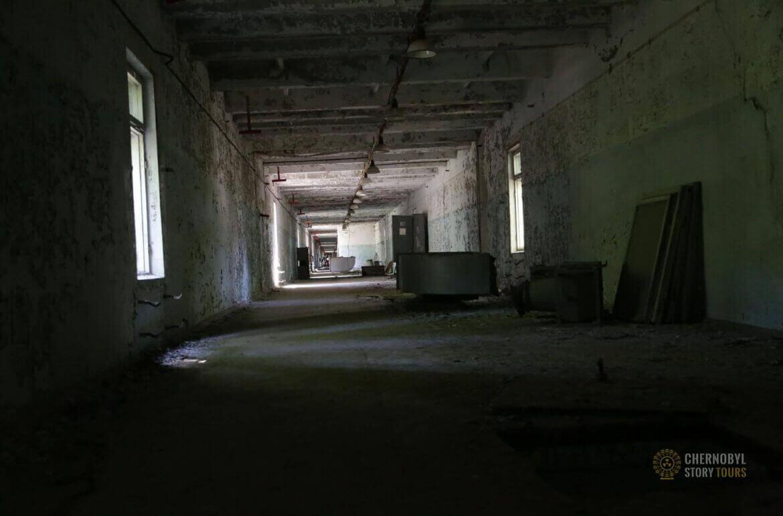 Chernobyl-2 Duga Building inside-12