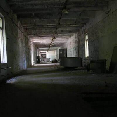 Chernobyl-2 Duga Building inside -12