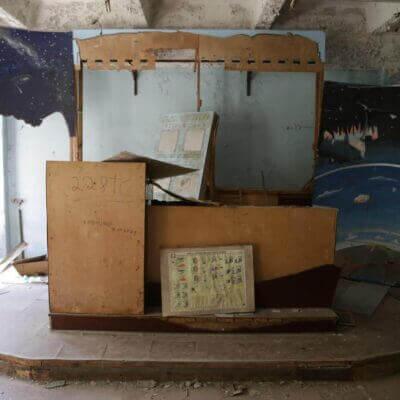 Chernobyl-2 Duga Building inside - 3