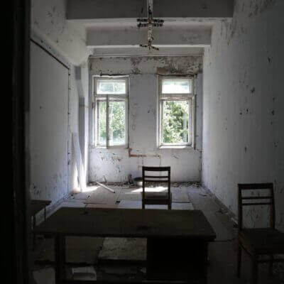 Chernobyl-2 Duga Building inside - 4