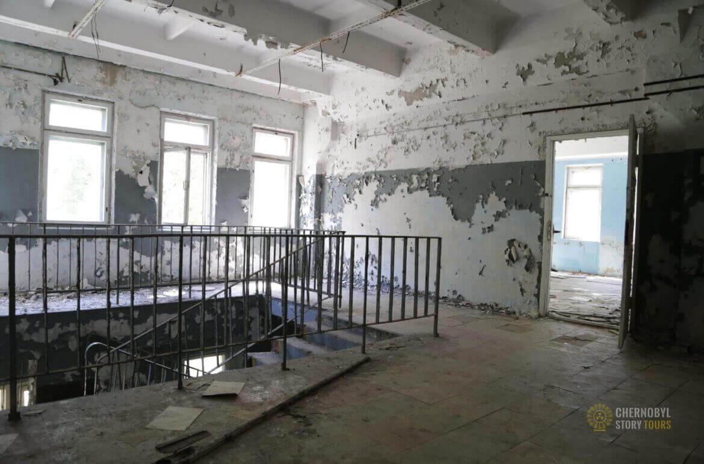 Chernobyl-2 Duga Building inside-6
