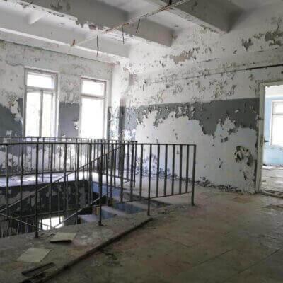 Chernobyl-2 Duga Building inside - 6