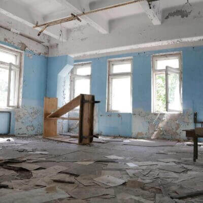 Chernobyl-2 Duga Building inside - 7