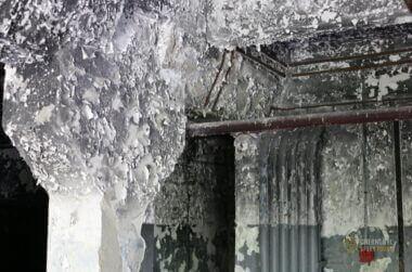 Chernobyl-2 Duga Building inside -9