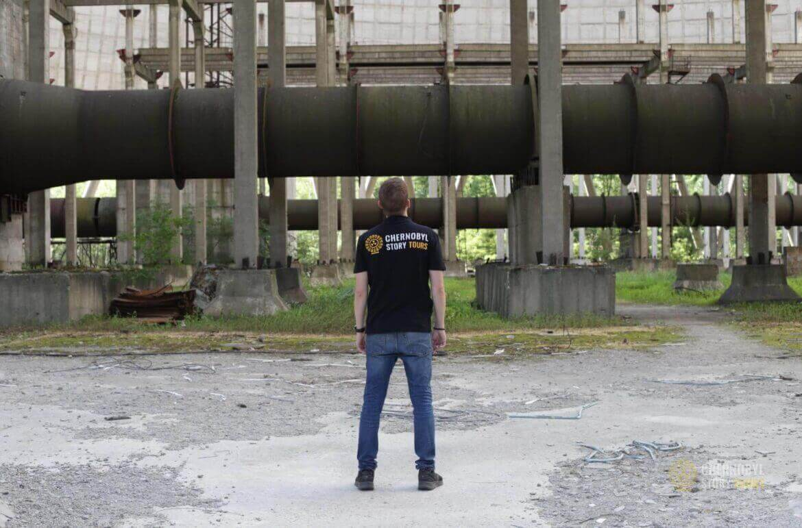 Chernobyl Abandoned Cooling Tower-2