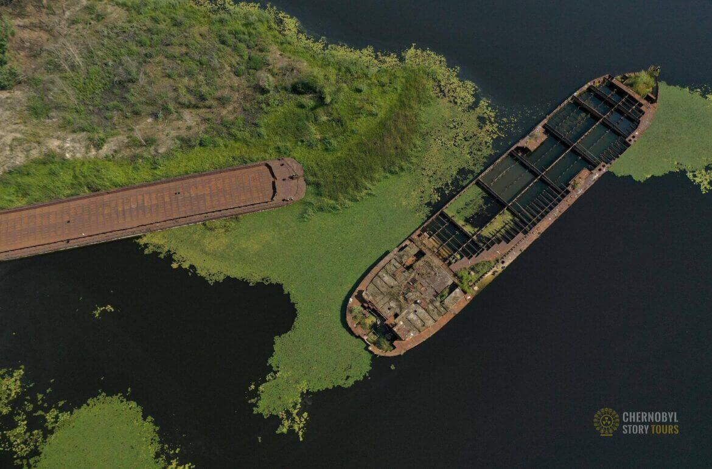 Chernobyl Abandoned Port by chernobylstory.com