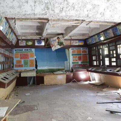 Chernobyl Duga Building inside-8