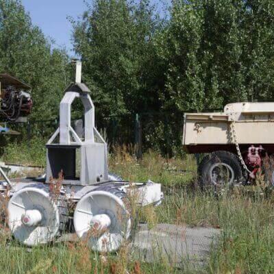 Chernobyl Vehicle Graveyard 3