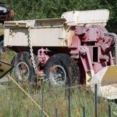 Chernobyl Vehicle Graveyard