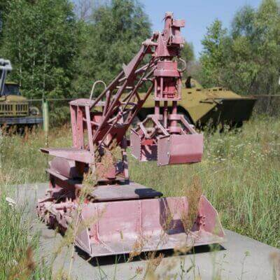 Chernobyl Vehicle Graveyard 7