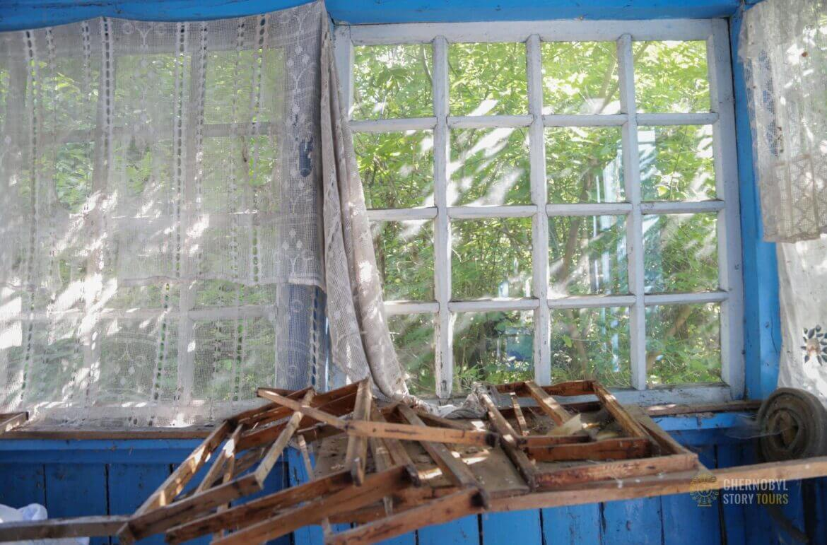 Chernobyl Village - window
