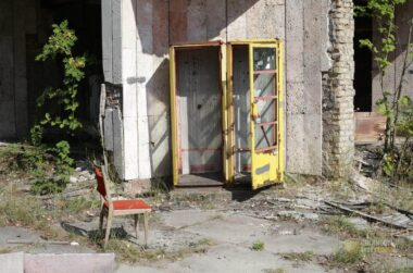 Pripyat Phone Booth 2