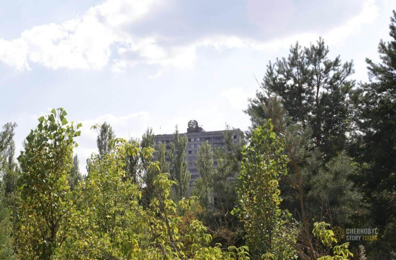 Prypiat Heraldic Sixteen-Story Building