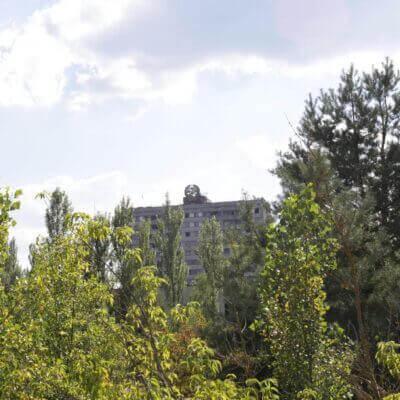 Prypiat Heraldic Sixteen Story Building