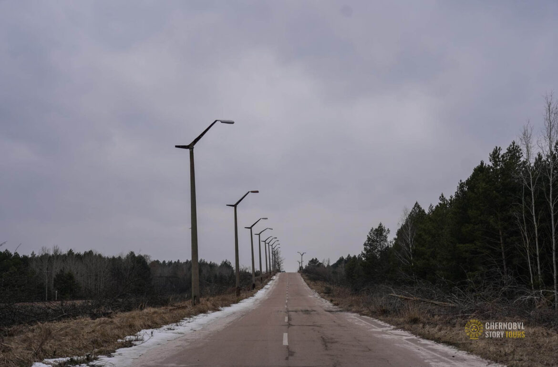 bridge of death chernobyl view