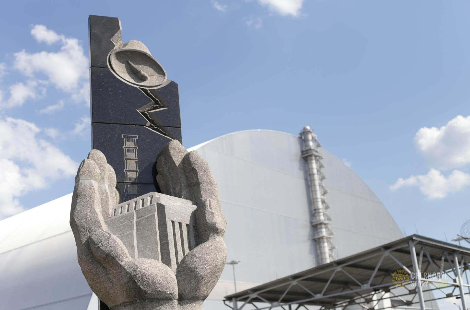 Chernobyl Sarcophagus by chernobylstory.com