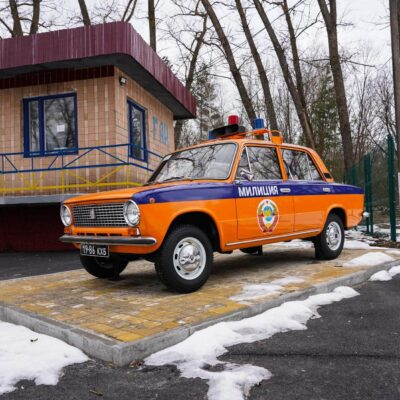 Chernobyl Police Vehicle