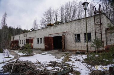 FIRE STATION IN CHERNOBYL