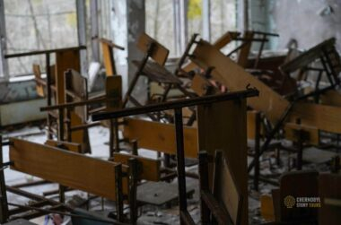 PRIPYAT SCHOOL classroom