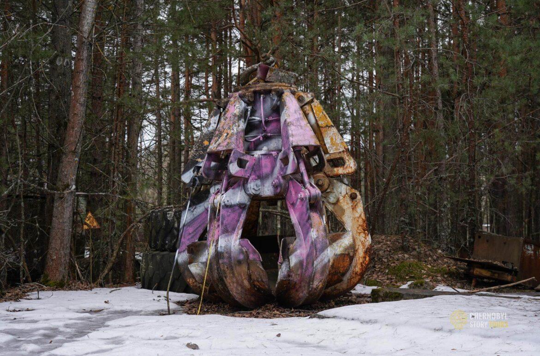 chernobyl claw