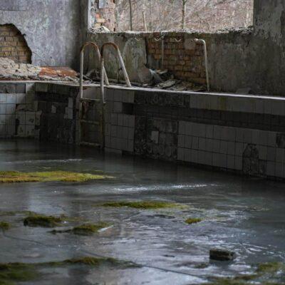 pool in pripyat sport complex